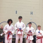 Archie and Owen- Gold and Silver - Low Grade/Open Grade Junior/Senior Championship – April 2013