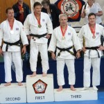 Matthew Harte Winning a Bronze at High Wycombe Masters