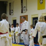 Neil Adams visits the Friary Judo Club in Lichfield