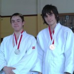 Jack and Matthew - Silver and Bronze - Senior-MedalsSenior Kyu Grades Open – 23 May 2010